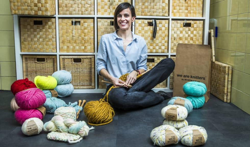 evento pepita marin we are knitters emprendedores